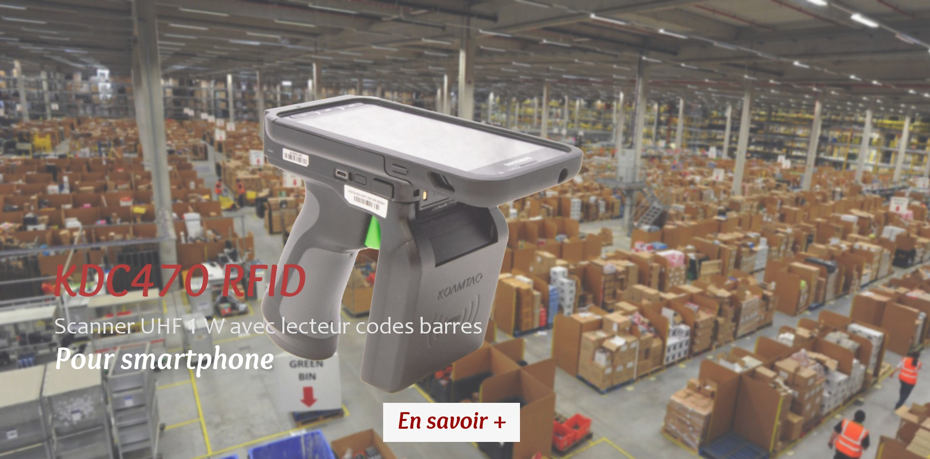 Scanner RFID pour Smartphone